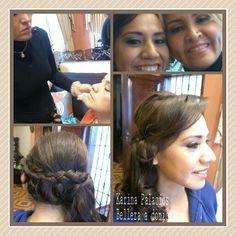 Hair. Isabel Makeup. Karina