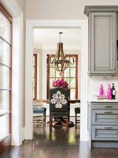 chair ....wooden chandelier
