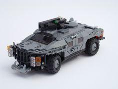 Lego Mechs, Lego Titanfall, Lego Army, Lego Lego, Armored Vehicles, Lego Vehicles, Lego Truck, Lego Modular, Cool Lego Creations