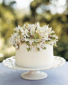 Simple cake. Love!