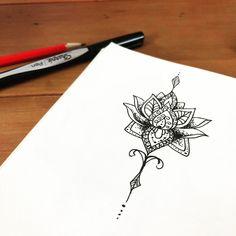 Mandala icon, handdrawn, illustration, flower, pen and ink, illustrator.