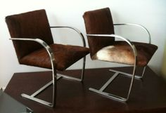 Mies van der Rohe chairs by Knoll