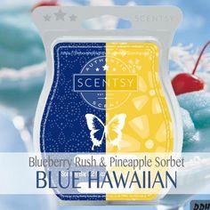 BLUEBERRY RUSH & PINEAPPLE SORBET