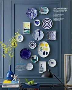 No art? No problem! Make like West Elm and get creative with what you put on your walls. From plates to baskets, using only pictures on your wall is so 2015.