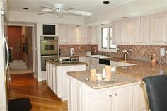 kitchen remodel keeping old soffit - Google Search