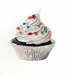 Cupcake 2.0, 2014. Paper. 10 in x 8 in.
