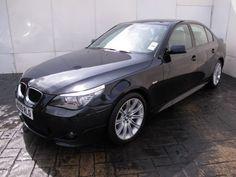 "2009 09 Reg BMW 5 Series 520D 2.0D M SPORT 177 BHP 4DR SALOON, £4000 OPTIONAL EXTRA SPEC, FSH, 18"" ALLOYS, SAT NAV, BLUETOOTH"
