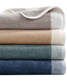 Hotel Collection Reversible Bath Towel Collection - Bath Towels - Bed & Bath - Macy's Bridal and Wedding Registry Bath Towel Storage, Bath Towel Sets, Bathroom Towel Decor, Bathroom Ideas, Bath Ideas, Modern Bathroom, Small Basement Bathroom, Best Bath Towels, Hotel Towels