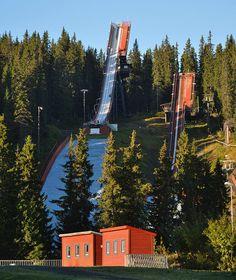 Trondheim ski arena, Norway