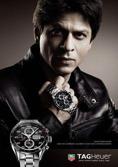 Shahrukh Khan - Tag Heuer #Watch