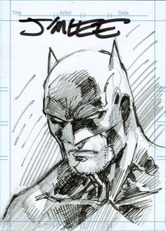 Batman by Jim Lee!