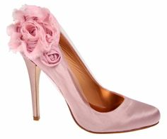 possible pink wedding shoes