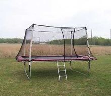 Texas Standard 15 x 9 ft. Rectangular Trampoline with Enclosure System - Model 915-W/ENC