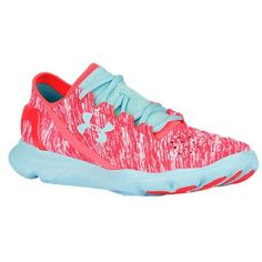 NWT Under Armour Speedfoams Brand new, never worn!!! Tiffany blue and bright bright pink! Great athletic shoes! Fit like a size 7.5/8 Under Armour Shoes Athletic Shoes