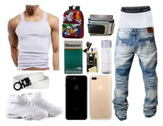 """Blaide 5"" by itzyalocalwhiteboy on Polyvore featuring H.I.P., men's fashion and menswear"