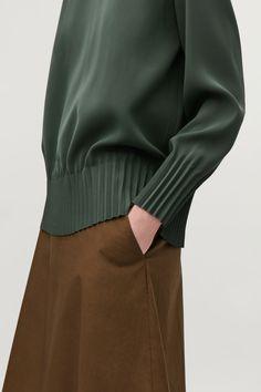 a0692e5d36c PLEATED BLOUSE — COS Women Wear