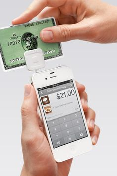 Accept credit cards and cash on your iPhone, iPad or iPod touch with the free Square Card Reader.