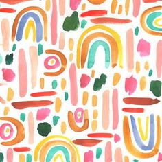 Fine art, textiles, and art prints by New Orleans artist Juliet Meeks. Juliet Meeks is an artist based in New Orleans. Here you can shop her original art and bring some color and beauty into your home. Boho Pattern, Pattern Art, Abstract Pattern, Free Pattern, Kids Patterns, Textures Patterns, Print Patterns, Floral Patterns, Cool Patterns