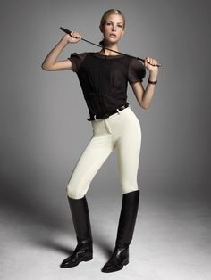 Equestrian style. love the shirt..really cute