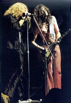 robert plant and jimmy page relationship