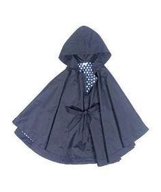 Echo Hooded Rain Poncho, $98, #dailyfinds