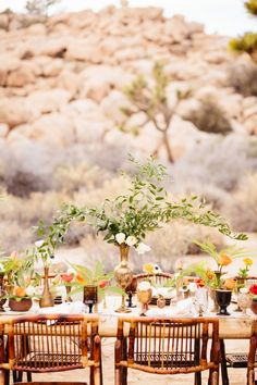 Desert Coachella wedding inspiration |  Photo by Jodee Debes Photography | Read more -  http://www.100layercake.com/blog/wp-content/uploads/2015/04/Desert-Coachella-wedding-inspiration