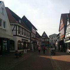 Nienburg Deutschland.#fachwerkhaus