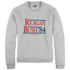 Reagan Bush '84 Crewneck Sweatshirt