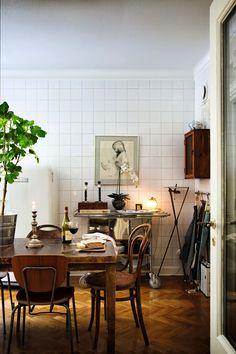 EL JARDIN DE LOS MUFFINS: Blog de Interiorismo y Decoración Vintage.: Una Casa Decorada en Estilo Vintage Relajado