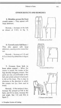 Zadakar Beginner Sewing Patterns, Dress Sewing Patterns, Sewing Projects For Beginners, Clothing Patterns, Sewing Tutorials, Suit Pattern, Pants Pattern, Sewing Pants, Sewing Clothes
