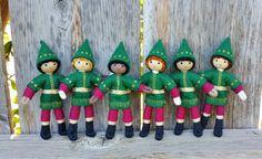 Kindness Elves Handmade with Blonde Hair   Wildflower Toys