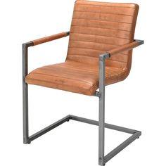 A0007106 | Bruin stoel lima, trendhopper