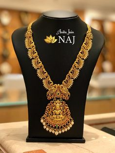 Jewelry OFF! Brillant Gold Antique Collections From Naj Jewellery Antique Jewellery Designs, Gold Jewellery Design, Antique Jewelry, Gold Jewelry, Dainty Jewelry, High Jewelry, Leather Jewelry, Luxury Jewelry, Antique Gold