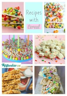 Recipes with Cereal #recipe