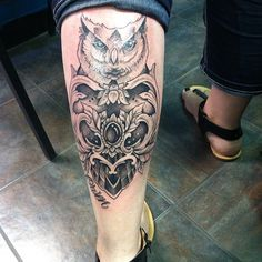 110 Attractive Calf Tattoos Ideas For Men And Women nice