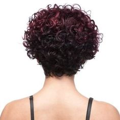 It's A Cap Weave! Human Hair Wig - HH BRITNEY Lasts longer than synthetic units. Bob Hairstyles For Round Face, Curly Bob Hairstyles, Short Curly Hair, Short Hair Cuts, Curly Hair Styles, Natural Hair Styles, Choppy Haircuts, Pixie Cuts, Wavy Hair