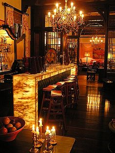 Onyx Lit Bar Counter 2, only the bar, the rest is horrific