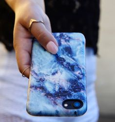 Geode for iPhone 7 & iPhone 7 Plus. Part of the Marble Collection from Elemental Cases.