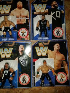 Mattel WWE Retro Action Figures  CENA BROCK LESNAR KEVIN OWENS ROMAN REIGNS MOC - http://bestsellerlist.co.uk/mattel-wwe-retro-action-figures-cena-brock-lesnar-kevin-owens-roman-reigns-moc/