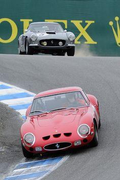 Ferrari 250 GTO and 250 SWB
