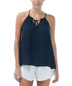 Look what I found on #zulily! Navy Halter Top by CQ #zulilyfinds