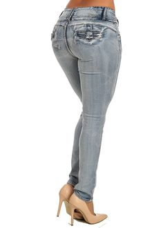 Sexy Butt Lifting Levanta Cola Colombian Style Wash Skinny Stretch Jeans 10511J *** This is an Amazon Affiliate link. Learn more by visiting the image link.