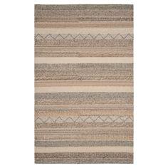 Beige Stripe Tufted Accent Rug - (2'X3') - Safavieh
