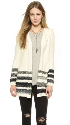 Splendid Ombre Stripe Cardigan
