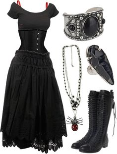 """""""."""" by niemand on Polyvore Ideal boots"""