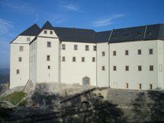 Festung Königstein, die frisch sanierte Georgenburg