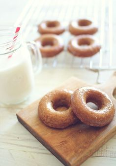 Baked Maple Donuts from Dashing Dish!    (Paleo Friendly, Grain Free, Gluten Free, Low Carb)