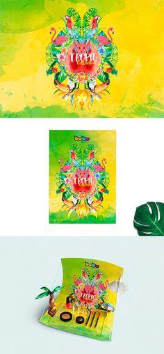Creación de la campaña publicitaria, expositor y comunicación para la colección Bubu Tropic de Bubu Makeup, para la primavera 2017.  Para la nueva colección, le proponemos al cliente un viaje al trópico. La puerta a la exuberancia de la naturaleza, un potente colorido, junto con elementos tropicales como palmeras, tucanes y frutas, que van a hacer de la imagen corporativa de Tropic una colección radiante y luminosa. Packaging, marketing, diseño gráfico.