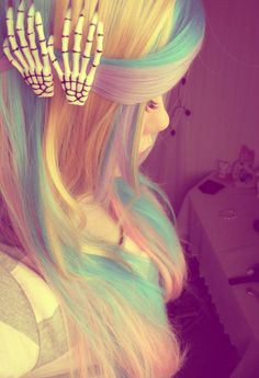 mommy!! i want that hair