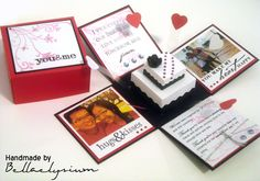 explosion box card | 999 days explosion box (open) by Bellaelysium on DeviantArt